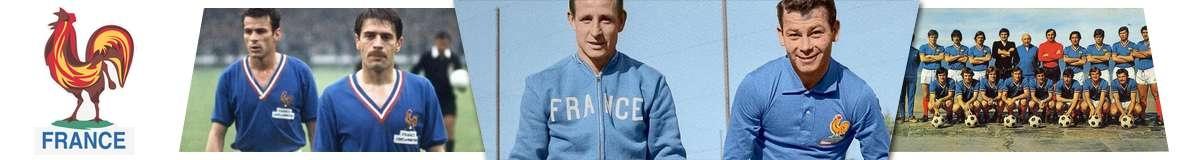 Frankreich Retro Trikots