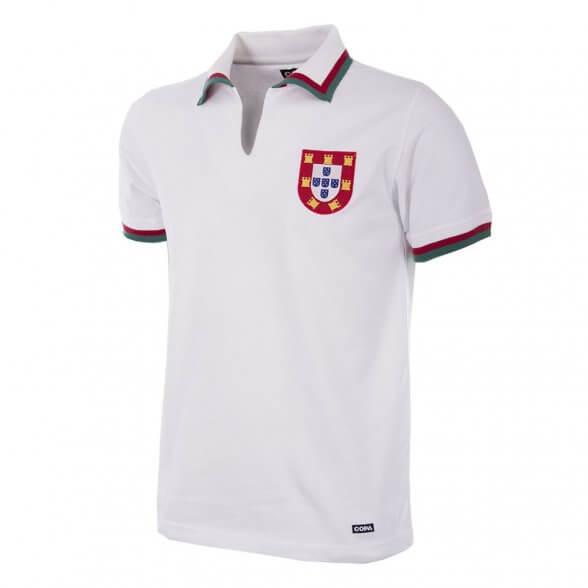 Portugal retro Trikot 1972 | Weiß