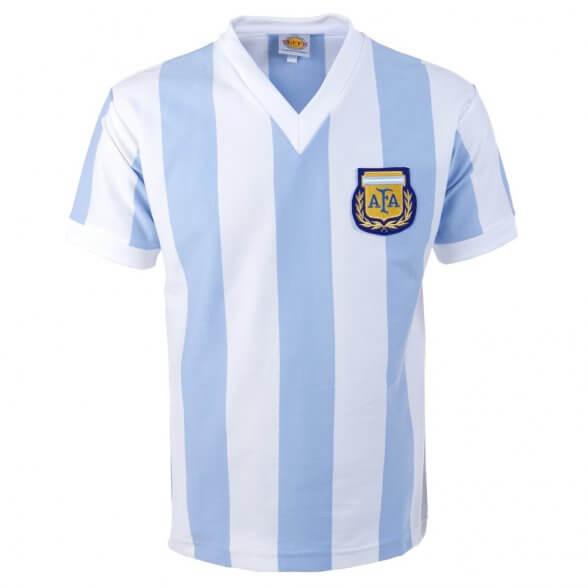 Argentinien Retro Trikot WM 1982