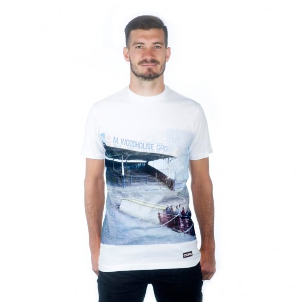 Preston North End Terraces T-Shirt | White