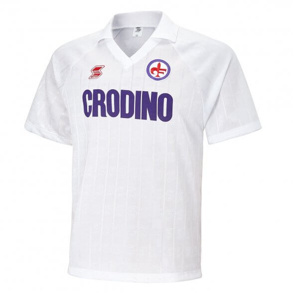 Fiorentina 1988/89 Retro Trikot   Auswärts