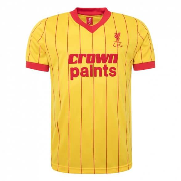 Liverpool Trikot 1981/82   Away