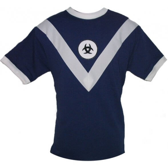 Bordeaux Retro Trikot