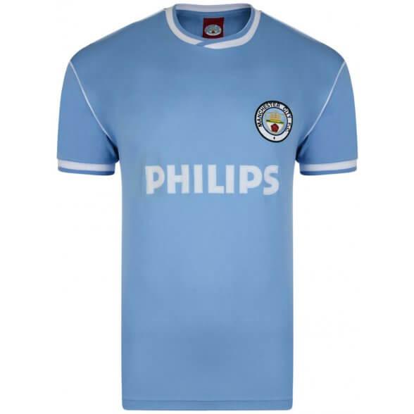 Manchester City 1986 Trikot