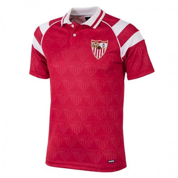 Sevilla FC 1992 - 93 Retro Trikot   Auswärts