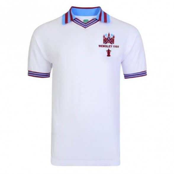 West Ham 1980 Trikot Auswärts