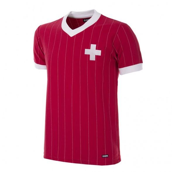 Schweiz retro Trikot WM 1982