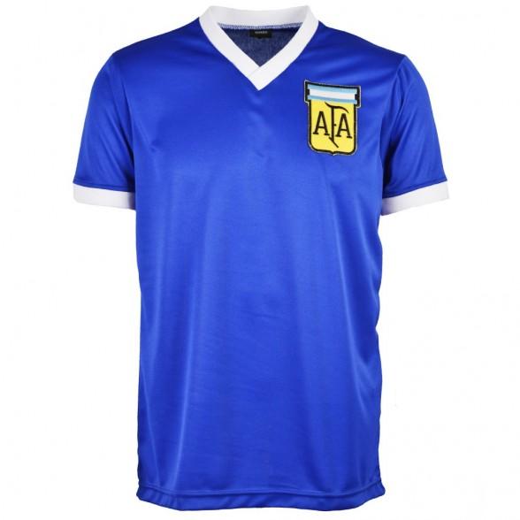 Argentinien Retro Trikot WM 1986   Auswärts