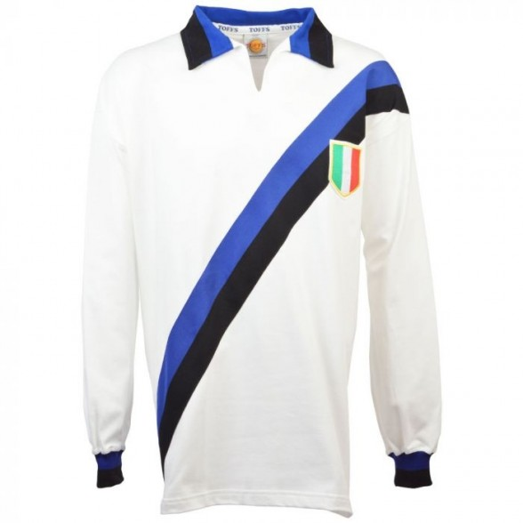 Inter Mailand Retro Trikot Scudetto 1963/1964 weiß