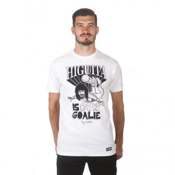Higuita T-Shirt | White