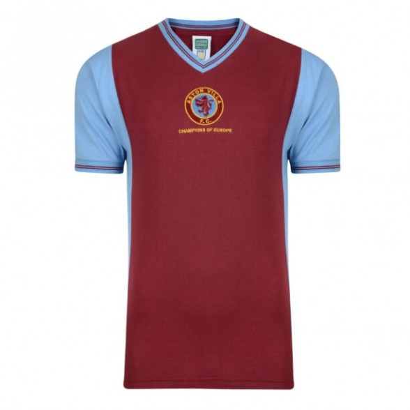 Aston Villa 1982 Champions of Europe retro trikot