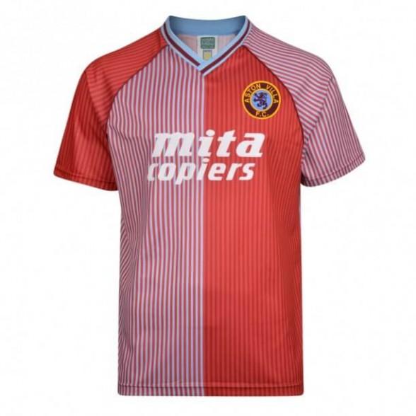 Aston Villa 1987-88 retro trikot