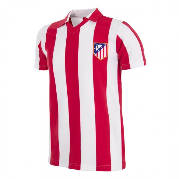 Atletico Madrid 1985-86 retro trikot