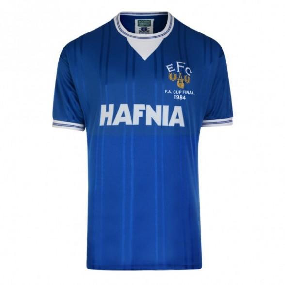 Everton 1984 Trikot