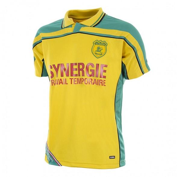 FC Nantes 2000-01 retro trikot
