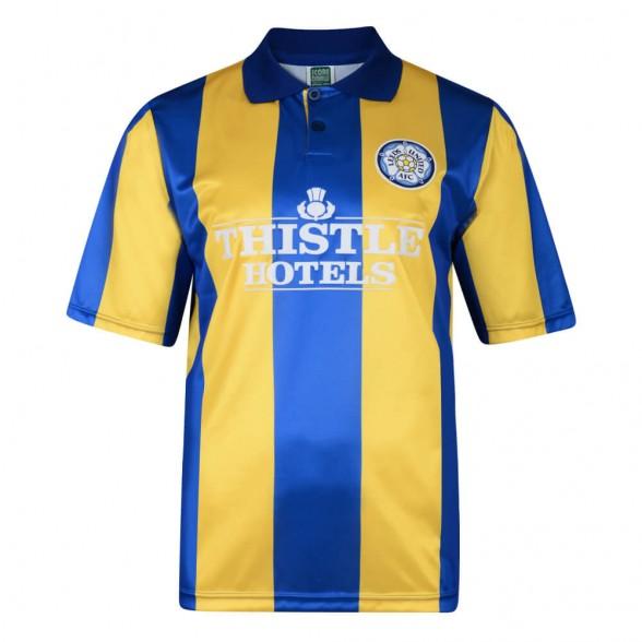 Leeds United 1994 Aüswarts retro trikot
