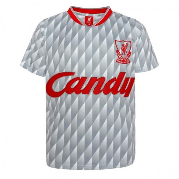 Liverpool FC 1989-90 retro trikot | Auswärts | Kind