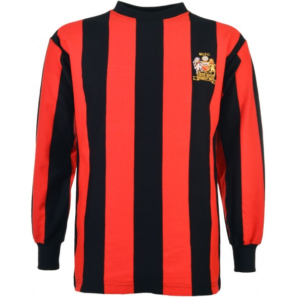 Manchester City 1969 Trikot