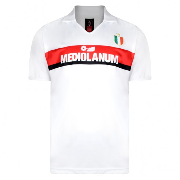 AC Milan Trikot 1988-89 auswärts
