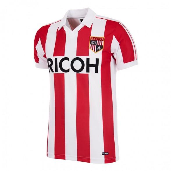 Stoke City FC 1981-83 retro trikot