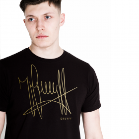 Cruyff Signature T-Shirt | Schwarz / Gold
