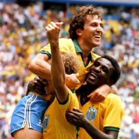 Brasilien 1986 Retro Trikot