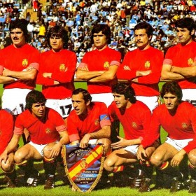 Spanien retro Trikot 70er Jahre