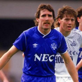 Everton 1987 retro trikot