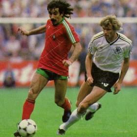 Portugal Trikot 1984