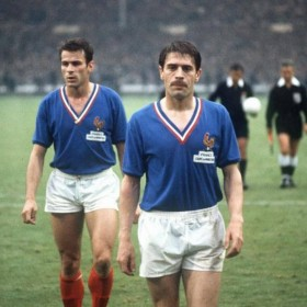 Frankreich Retro Trikot 1966 | Kind