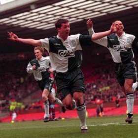 Liverpool FC 1995-96 retro trikot | Auswärts