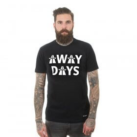 Away Days T-Shirt | Black