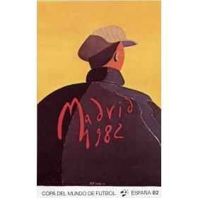 Cartel Oficial de España 82, Cartel Oficial de Madrid - El portero de Arroyo