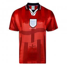 England 1998 Aüswarts retro trikot