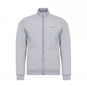 Essentiels Full Zip Sweatshirt | Grey