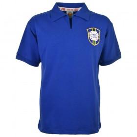 Brasilien blaues Trikot Weltmeister 1958
