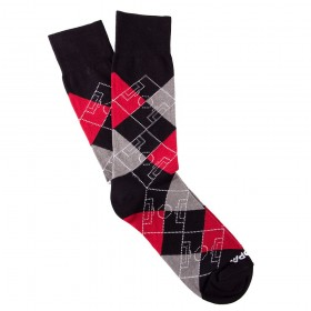 Argyle Football Pitch | Black-Red-Grey-White