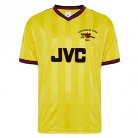 Arsenal 1985-86 Aüswarts Hundertjahrfeier retro trikot