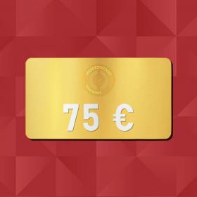 75€ Gift Card - Retrofootball®