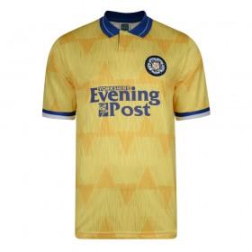 Leeds United 1992 Aüswarts retro trikot