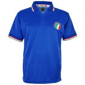 Italien Retro trikot. Italienisches Weltteam 1990