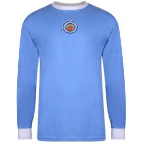 Manchester City 1970 Trikot - Lange Ärmel