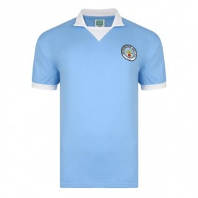 Manchester City 1975/76 Trikot
