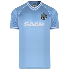 Manchester City 1982 Trikot