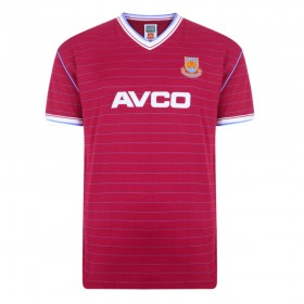 West Ham 1985/86 Trikot