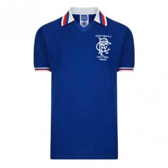 Glasgow Rangers 1980/81 Trikot