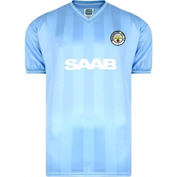 Manchester City 1984 Trikot
