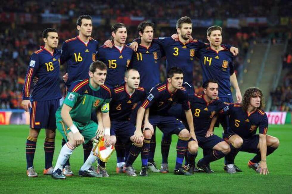 Spanien Weltmeisterschaft 2010 - Weltmeister
