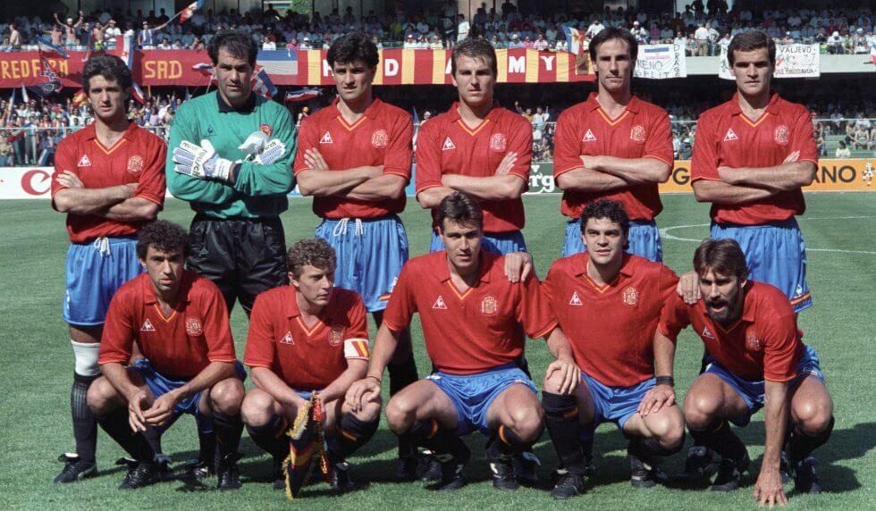 Spanien 1990 Fußballtrikot
